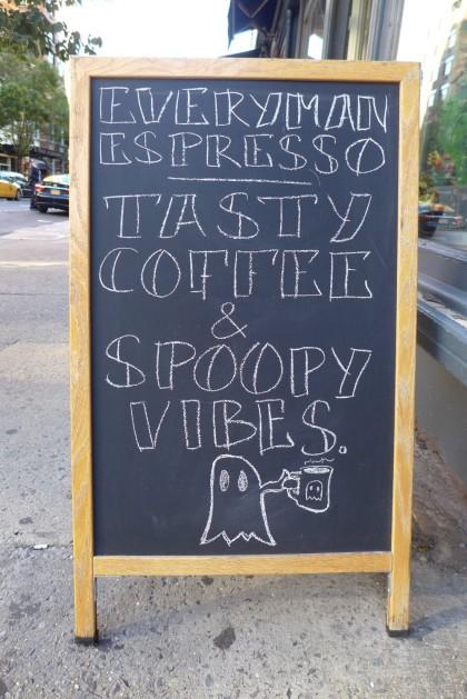 Everyman Espresso spoopy