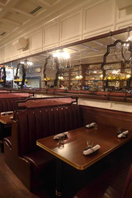 Rosa Mexicano Tribeca booths