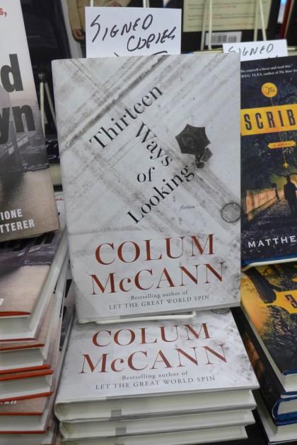 Colum McCann at Mysterious Bookshop