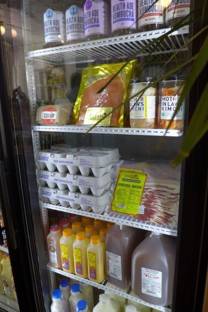 Court Street Grocers on LaGuardia fridge