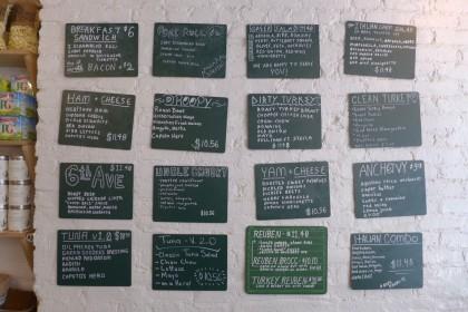 Court Street Grocers on LaGuardia menu