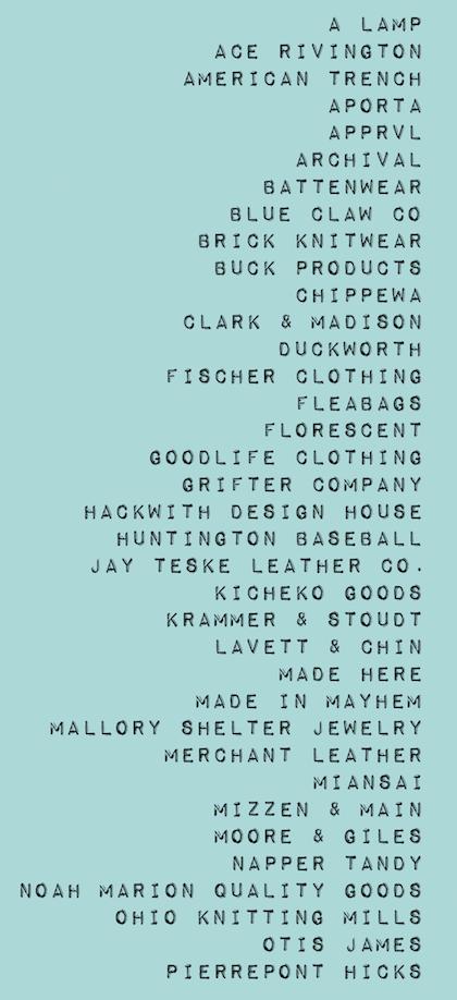Northern Grade brand list1