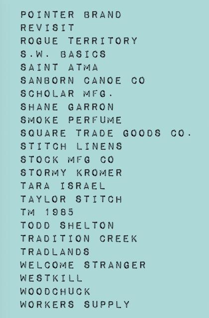 Northern Grade brand list2