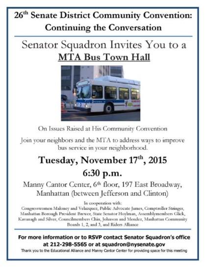Squadron bus event