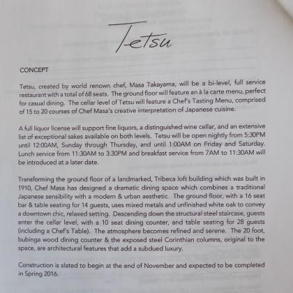 Tetsu concept