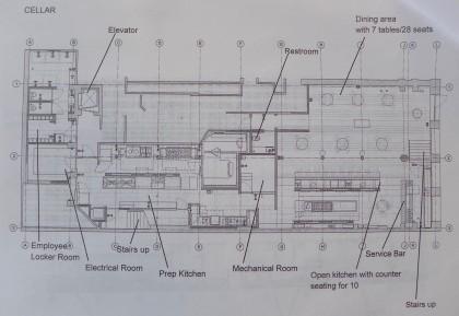 Tetsu floor plan cellar