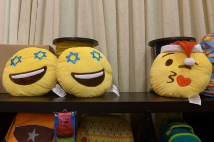 Torly Kid emoji pillows