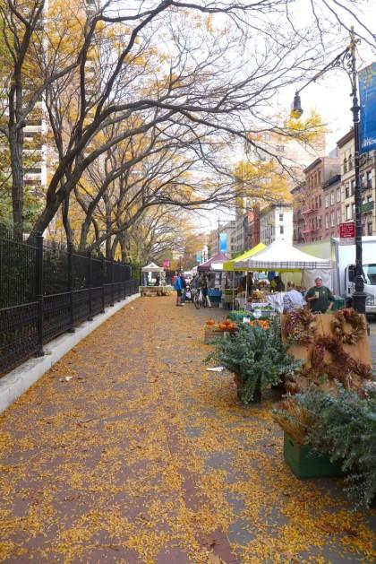 Tribeca Greenmarket autumn