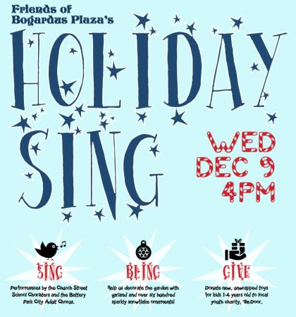 Bogardus Plaza Holiday Sing