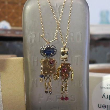 Cass Lilien robot pendants