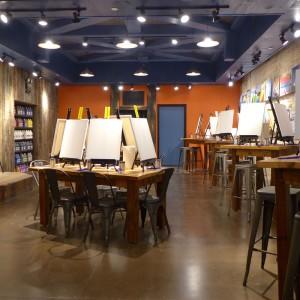 Mus Paintbar Tribeca room