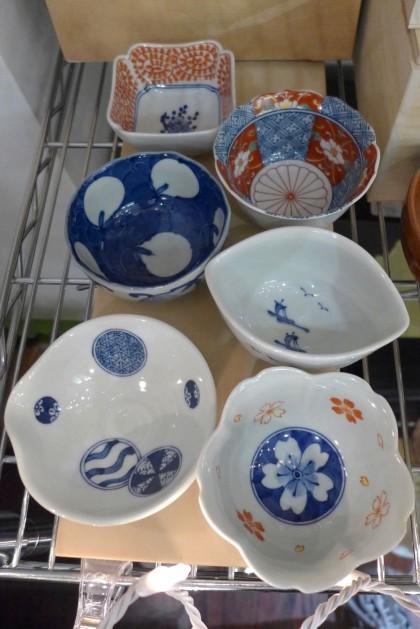 porcelain dish set at Korin