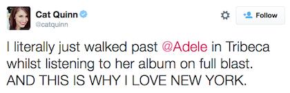 tweet Adele