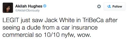 tweet Jack White