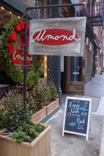 Almond Tribeca sign