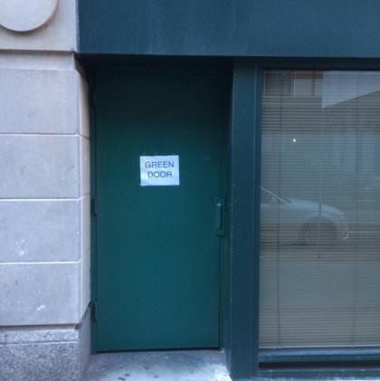 green door on Reade