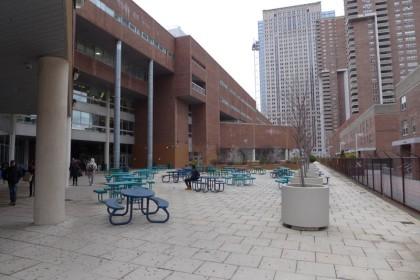 BMCC upper plaza