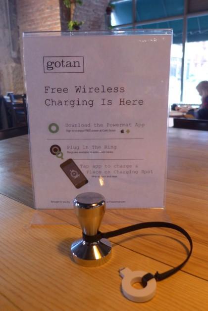 Powermat at Gotan