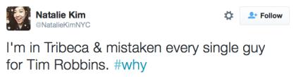 tweet Tim Robbins
