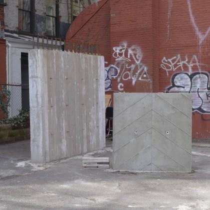 100 Franklin concrete