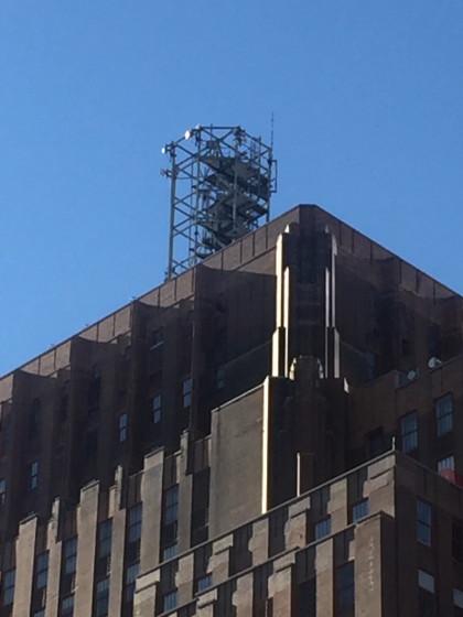 60 Hudson antenna mast