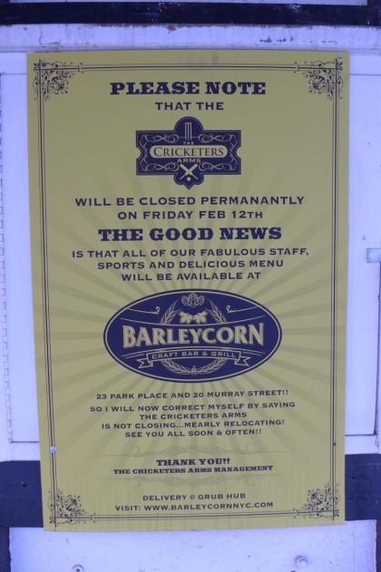 Cricketers Arms Barleycorn