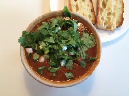 Good Stock vegan chili