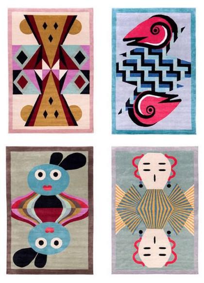 Joseph Carini Carpets collaboration with Alessandro Mendini