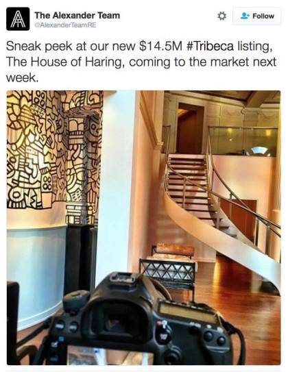 Keith Haring loft
