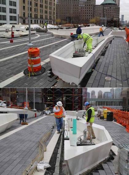 Liberty Park planters by WTCProgress