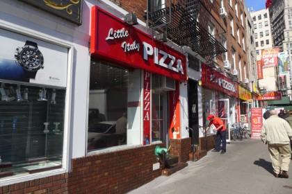 Little Italy Pizza on Fulton