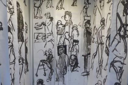Maria de Los Angeles Flaneurs at Front Art Space