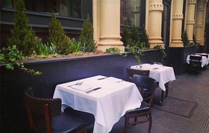 White Street outdoor seating
