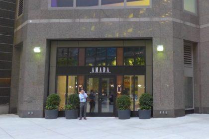 Amada NYC entrance