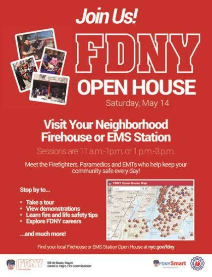 FDNY open house