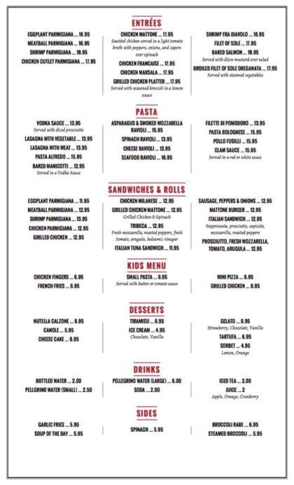 Il Mattone menu page2