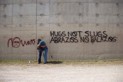 Lupe Flores Hugs not Slugs Abrazos no balazos