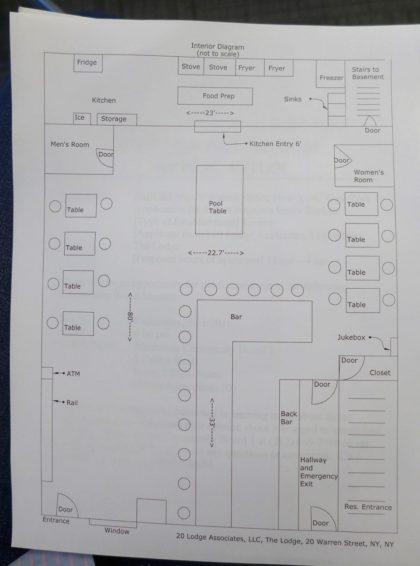 The Lodge floor plan