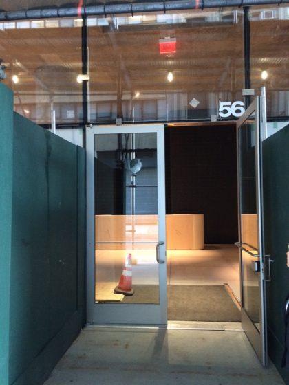 56 Leonard entrance
