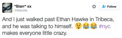 tweet Ethan Hawke