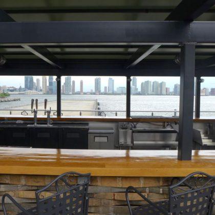City Vineyard upstairs bar