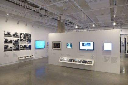 Main exhibit at ICP Museum