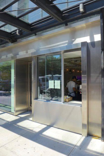 Maman window at ICP Museum