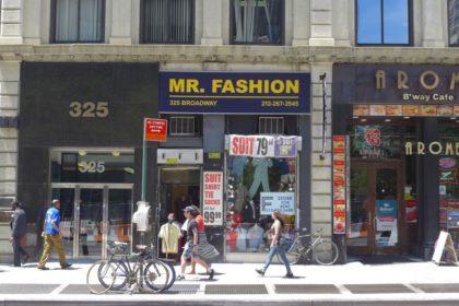 Mr Fashion 325 Broadway