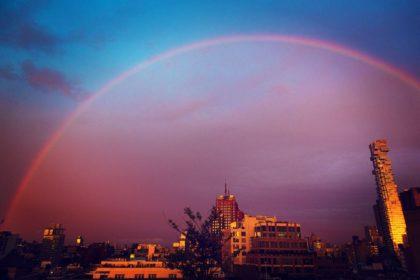 Rainbow over Tribeca by Brian Haklisch