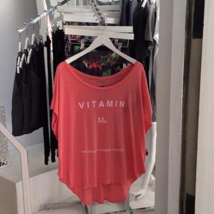 Tracy Anderson Vitamin Me shirt