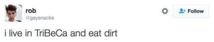 tweet eat dirt
