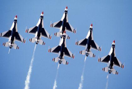 F-16 jets