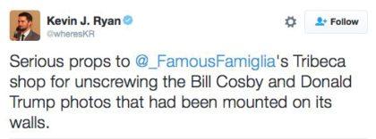 Famous Famiglia tweet
