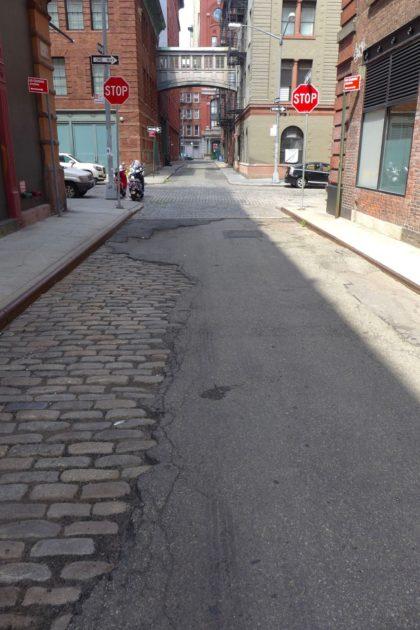 Staple Street cobblestones
